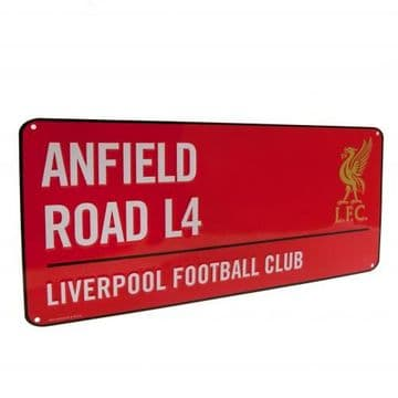 Liverpool FC Anfield Street Sign RD