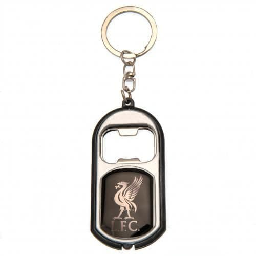 Liverpool FC Keyring with Torch BK | Bottle Opener | LFC Merchandise [ Football Gifts ]