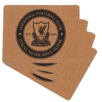 Liverpool FC Cork Placemats