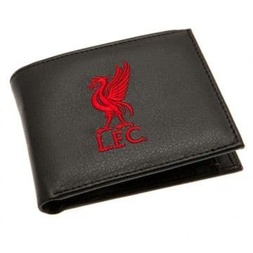 Liverpool FC Embroidered Leather Wallet