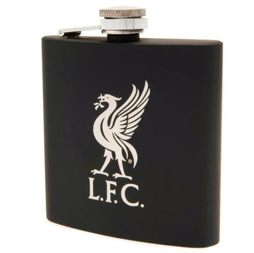 Liverpool FC Executive Hip Flask | LFC Merchandise [ Football Gifts for Him ]