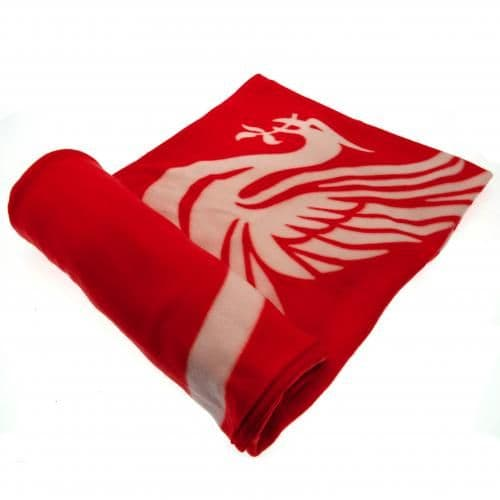 Liverpool FC Fleece Blanket PL | LFC Merchandise [ Football Gifts Shop ]