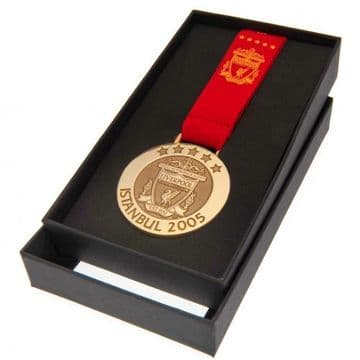 Liverpool FC Istanbul 2005 Replica Medal