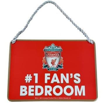 Liverpool FC Number 1 Fan Bedroom Sign