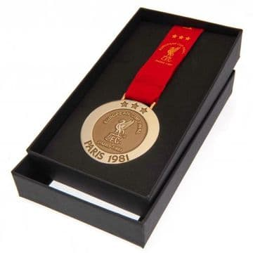 Liverpool FC Paris 1981 Replica Medal
