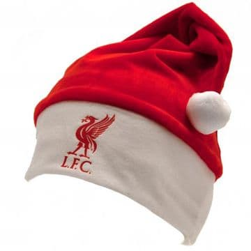Liverpool FC Soft Santa Hat