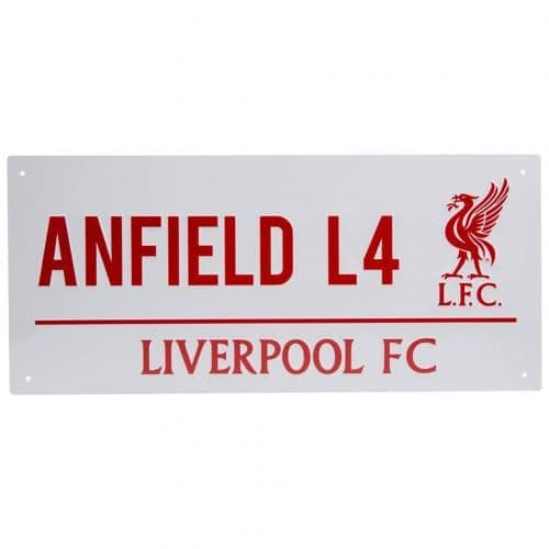 Liverpool FC Street Sign RL | LFC Merchandise [ Football  Gifts Shop ]