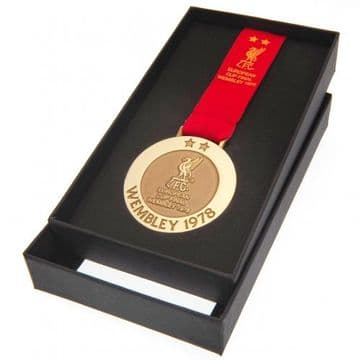 Liverpool FC Wembley 1978 Replica Medal