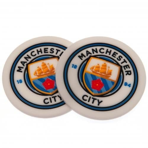 Manchester City Coasters (2 Pack)  | MCFC Merchandise | Football Gifts Shop