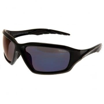Manchester City Adults Sports Wrap Sunglasses