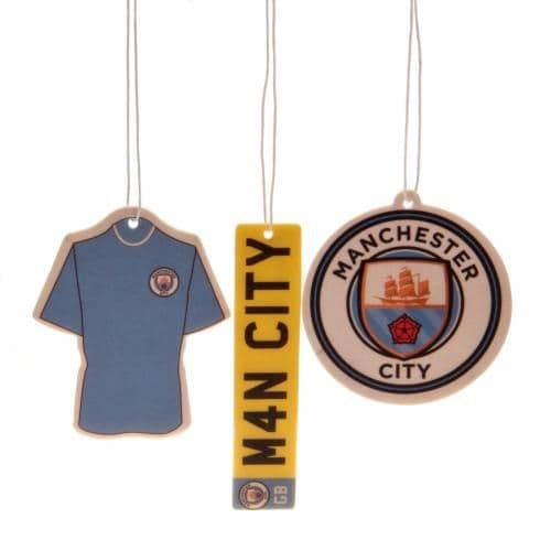 Manchester City Air Freshener (3 Pack) | MCFC Merchandise [ Football Gifts Shop ]