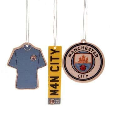 Manchester City Air Freshener (3 Pack)