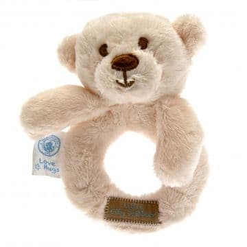 Manchester City Baby Rattle Hugs