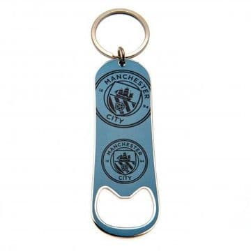 Manchester City Bottle Opener Keychain