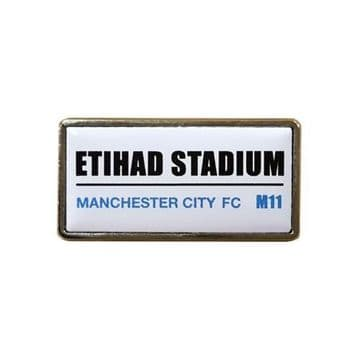 Manchester City Etihad Stadium Badge SS