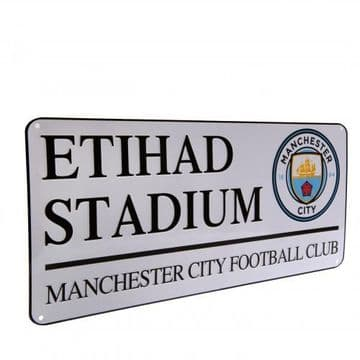 Manchester City Etihad Stadium Street Sign