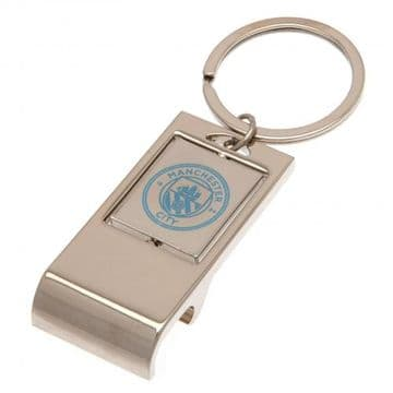 Manchester City Executive Bottle Opener Keyring