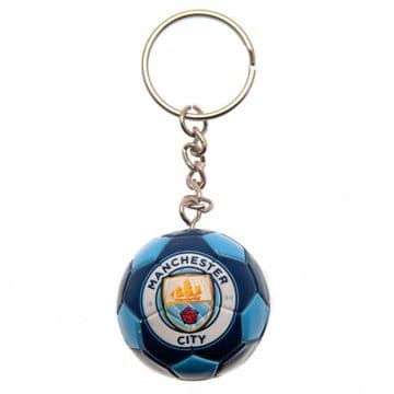 Manchester City Football Keyring