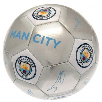 Manchester City Football with Signatures SV