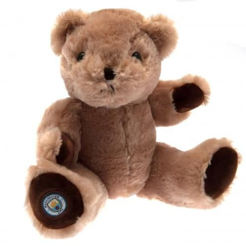 Manchester City George Teddy Bear | Cuddly Toy | MCFC Merchandise | Gifts