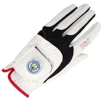 Manchester City Golf Glove Left Handed Large