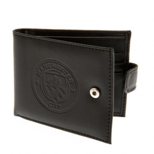 Manchester City Leather Wallet | MCFC Football Gifts for Men