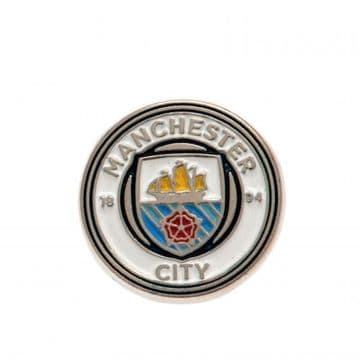 Manchester City Metal Badge