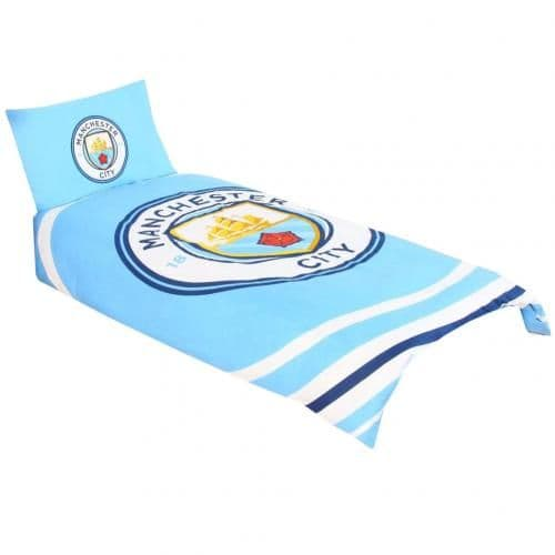 Manchester City Single Duvet PL | MCFC Merchandise [ Football Gifts Shop ]