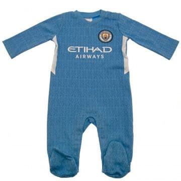 Manchester City Sleepsuit SQ 3-6 Months