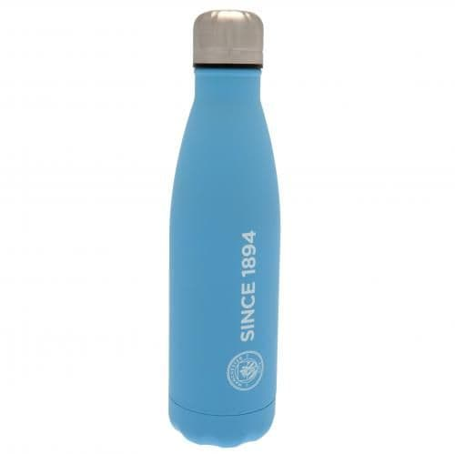 Manchester City Thermal Flask | Thermos | MCFC Merchandise [ Football Gifts Shop ]
