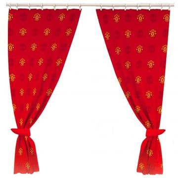 Manchester United Curtains.