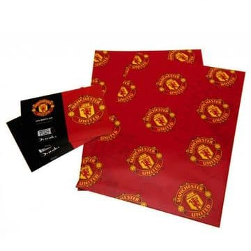 Manchester United Gift Wrapping Paper