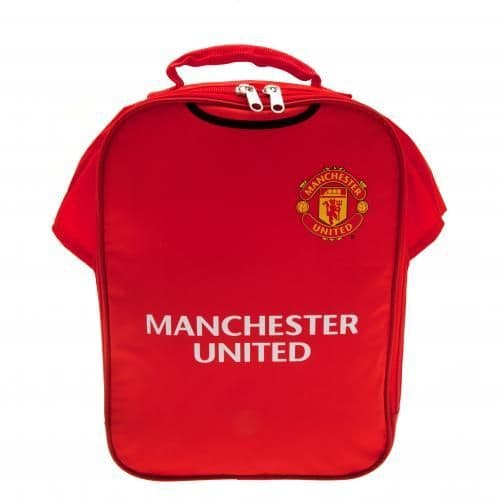Manchester United Lunch Bag | Snack Box | MUFC Merchandise | Gifts Shop
