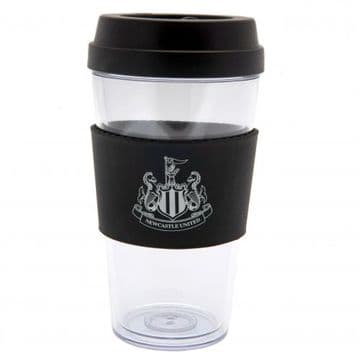 Newcastle United Clear Grip Travel Mug