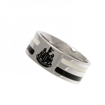 Newcastle United Colour Stripe Ring - Large