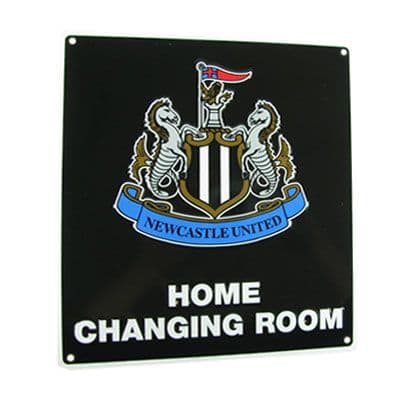 Newcastle United Home Changing Room Sign |