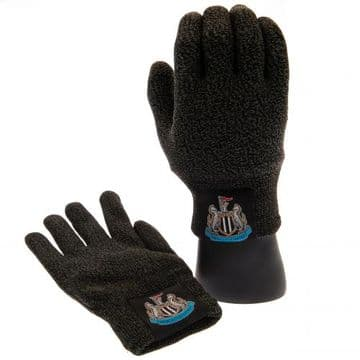Newcastle United Luxury Touchscreen Knitted Gloves (Youths)