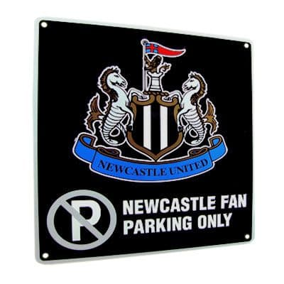 Newcastle United No Parking Sign | NUFC Merchandise [ Football Gifts Shop ]