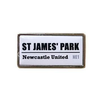 Newcastle United St James Park Badge SS