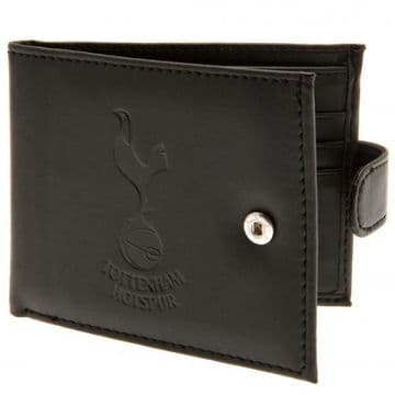 Tottenham Hotspur Leather Wallet with Anti-Fraud