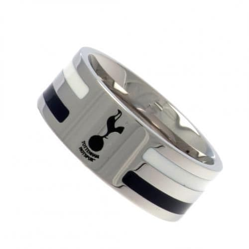 Tottenham Hotspur Colour Stripe Ring (S) | Spurs Merchandise | Gifts Shop