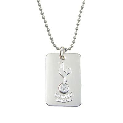Tottenham Hotspur Silver Plated Dog Tag | THFC Football Gifts