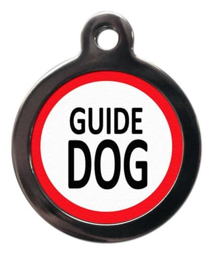 Guide Dog tag