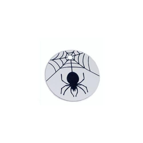 Halloween Pet ID tag Engraved - SPIDER