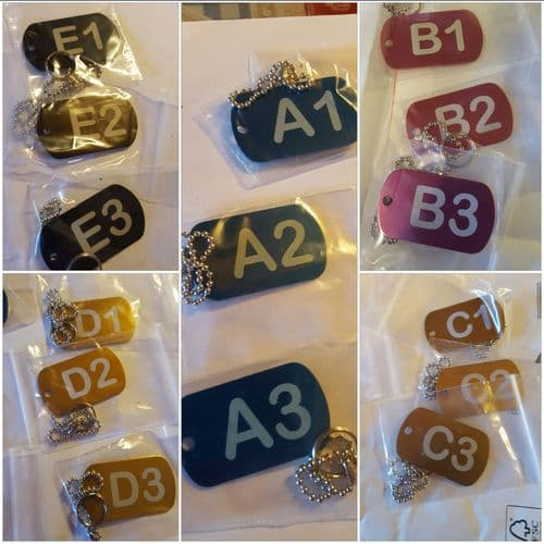 Key fob and Luggage Tags Personalised