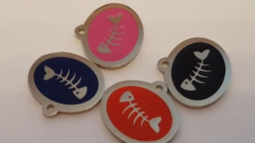 Luxury styled CAT tag
