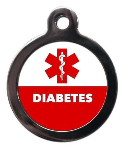 Medical  Alert tag - DIABETES