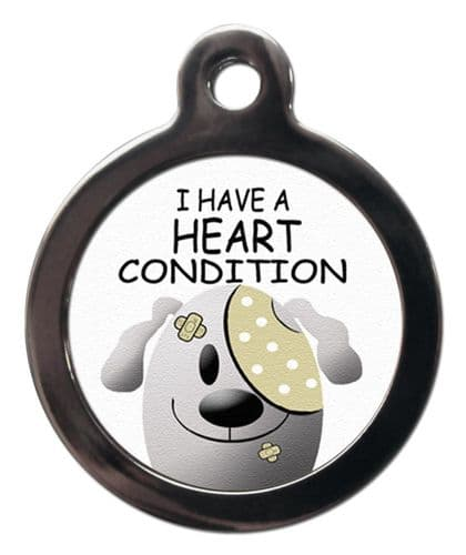 Medical  Picture Tags for Dogs - HEART CONDITION