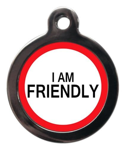 Medical Tags for Dogs - I AM FRIENDLY
