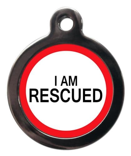 Medical Tags for Dogs - I AM RESCUED
